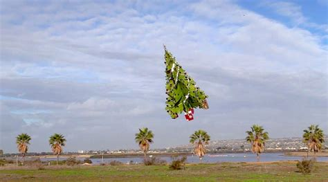 flying christmas tree on a drone archipanic