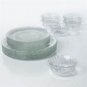 Service A Vaisselle : service de table en verre ~ Teatrodelosmanantiales.com Idées de Décoration