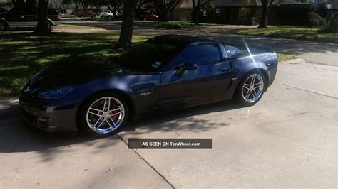 chevrolet covette  cyber gray immaculate