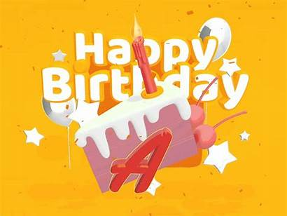 Typography Birthday Happy Vectary Incredible Template Tool