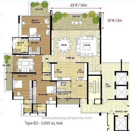 penang property infinity condominium in penang malaysia