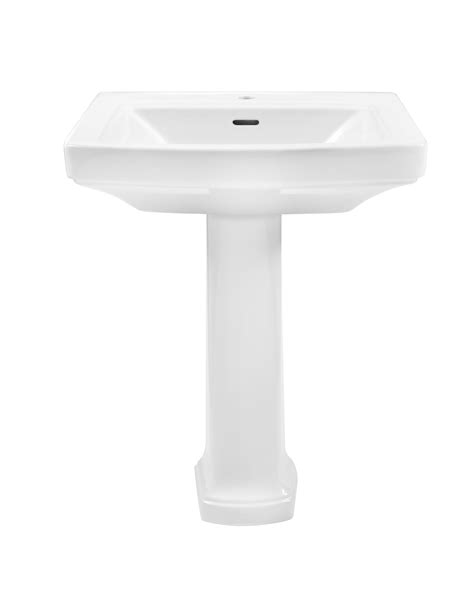 Gerber Pedestal Sink by Hinsdale Single Standard Bathroom Sink With Pedestal