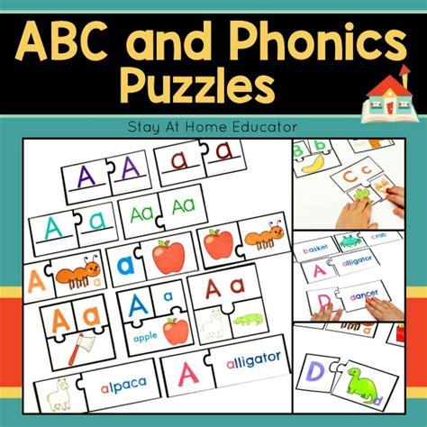 5 Easy Preschool Alphabet Activities From One Alphabet Puzzle