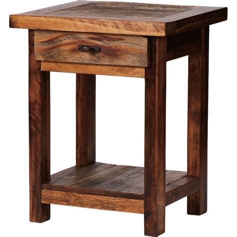 Bedroom End Tables Plans by 17 Best Ideas About Rustic Nightstand On Diy