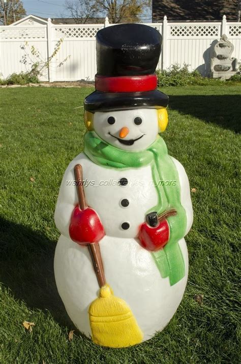 outdoor molded plastic christmas decorations