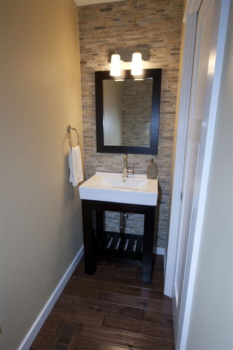 Perfect for the half bathroom! United Tile ?Falling Water