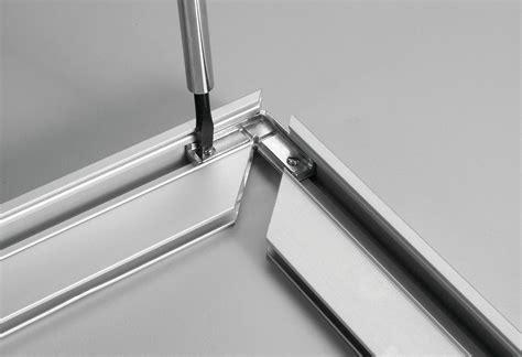 corner connector  aluminum door frame profiles