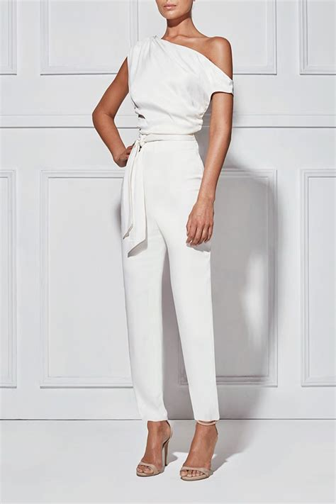 white jumpsuit for wedding best 25 white pantsuit ideas on white