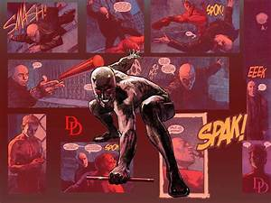 My Free Wallpapers - Comics Wallpaper : Daredevil vs Bullseye