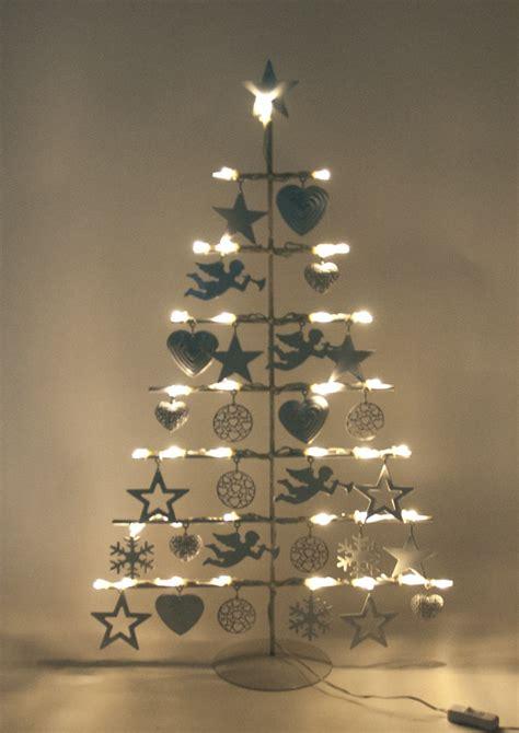 Deko Christbaum Metall by Led Weihnachtsbaum Aus Metall Christbaum Tischdeko