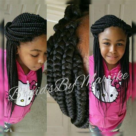 kids box braids braids by marijke pinterest kids