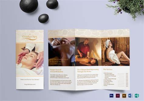 Free Spa Brochure Templates by Parlour Brochure Templates 36 Free Jpg Psd