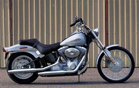 Harley Davidson Fxsti Softail Standard. Technical Data Of