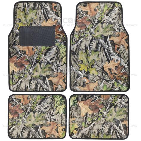 camo floor mats camo mats for car suv truck 4 pc car floor mat