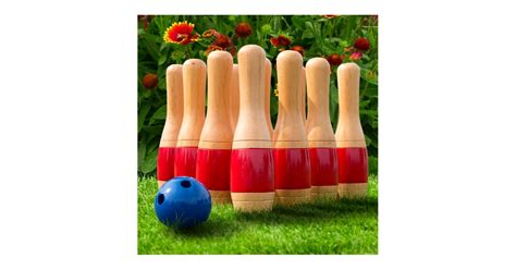 wooden lawn bowling set  target gifts  boyfriends