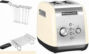 Kitchen Aid Toaster : kitchenaid toaster 5kmt221eac f r 2 scheiben 1100 watt cr me online kaufen otto ~ Yasmunasinghe.com Haus und Dekorationen