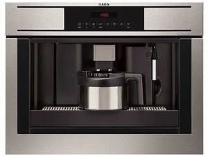 Aeg pe4511 m einbau espresso kaffeevollautomat edelstahl for Einbau kaffeevollautomat