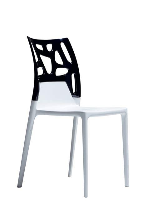 chaises de cuisine design chaise cuisine noir chaise esprit scandinave et