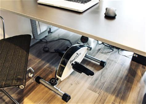 desk cycle weight loss this device could help office workers lose weight the