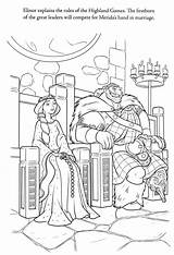 Coloring Brave Pages Royalty Disney Pixar Ministerofbeans Bestcoloringpagesforkids Title Read sketch template