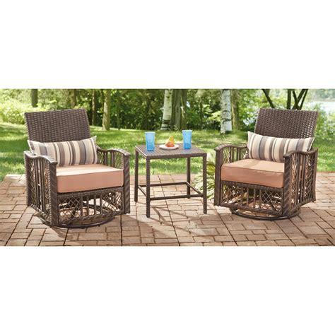 wicker seat glider set 639190 patio furniture at
