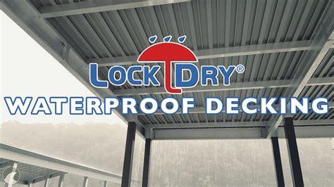 lockdry water tight aluminum marine decking youtube