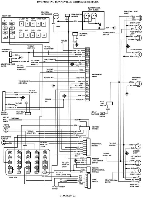 Gmc Trailer Wiring Diagram Free Picture by 1991 Gmc 6500 Series Fuse Box Auto Electrical Wiring Diagram