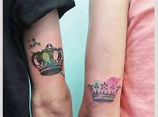 Tatouage King Queen Main Tattoo Art