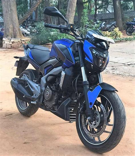 Check Out This Satin Blue & Matte Black Bajaj Dominar 400