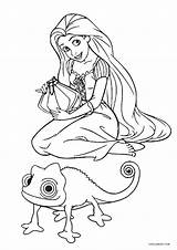 Coloring Pages Tangled Rapunzel Printable Sheets Pascal Printables Cool2bkids Disney Drawing Getdrawings Wings Imagination Putting Give Unique Sure Tangl sketch template