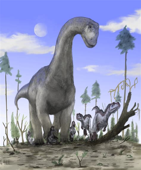 Sauropods Stomping Theropods A Much Neglected Theme In