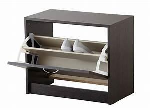 le meuble chaussure pour bien ranger sa chambre With meuble de rangement pour chaussures