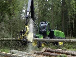 John Deere Tree Harvester