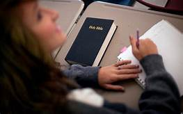 California School Lifts Ban On 'Bible Day'…