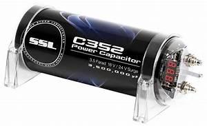 Amazon Com  Sound Storm C352 3 5 Farad Car Capacitor For