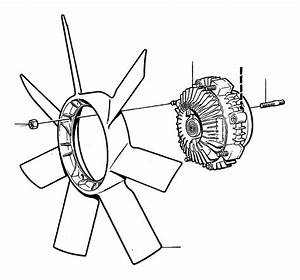 Volvo 780 Engine Cooling Fan Clutch Blade  Exc  Turbo  App