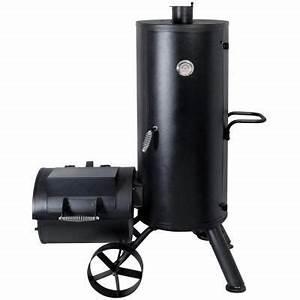 Upright Barrel Smoker : brinkmann trailmaster vertical smoker 855 6303 sb at the home depot pictures photographs ~ Sanjose-hotels-ca.com Haus und Dekorationen