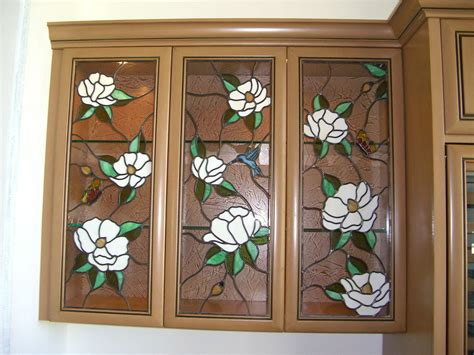 stained glass kitchen cabinet inserts finest quality custom designed cabinet stained glass by 8222
