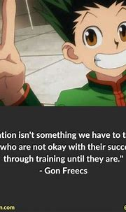 38 Hunter x Hunter Quotes Anime Fans Will LOVE   Hunter ...