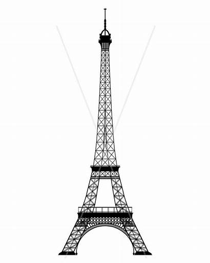 Tower Eiffel Coloring Pages Drawing Quilling Template