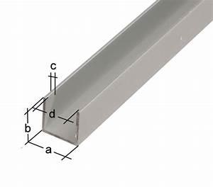 U Profil Trockenbau Maße : u profil aluminium abmessungen metallteile verbinden ~ A.2002-acura-tl-radio.info Haus und Dekorationen