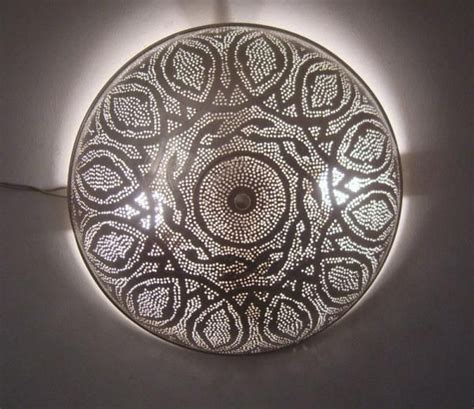 Moroccan Ceiling Lights, Flush Mount Ceiling Light   Flush