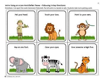 lion hunt language companion packet