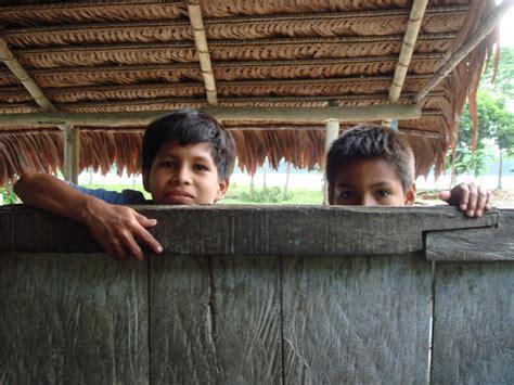 curious amazonian boys medicine hunter