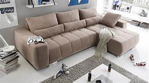 Möbel De Sofa : ecksofa lopez sofa wohnlandschaft taupe mit schlaffunktion ~ Eleganceandgraceweddings.com Haus und Dekorationen