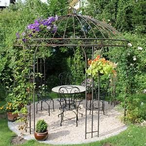 Gartenpavillon Aus Metall : pavillons aus metall ein blickfang in jedem garten ~ Michelbontemps.com Haus und Dekorationen