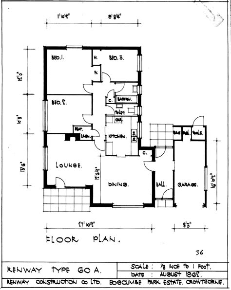 home plan architects the renway type 60a bungalow bungalowjournal com