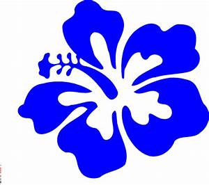 Blue Tropical Flower Clip Art at Clker.com - vector clip ...