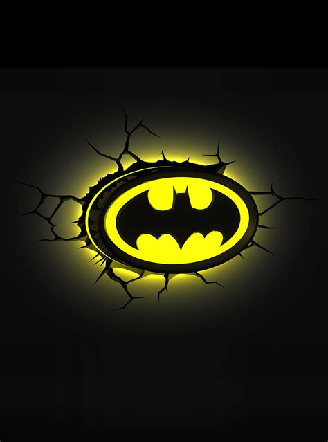 3d deco light batman logo official for fans funidelia