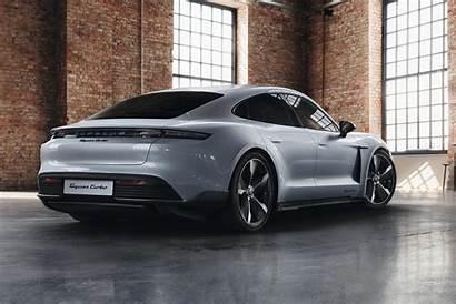 Taycan Porsche Turbo Silver Dolomite Exclusive Metallic